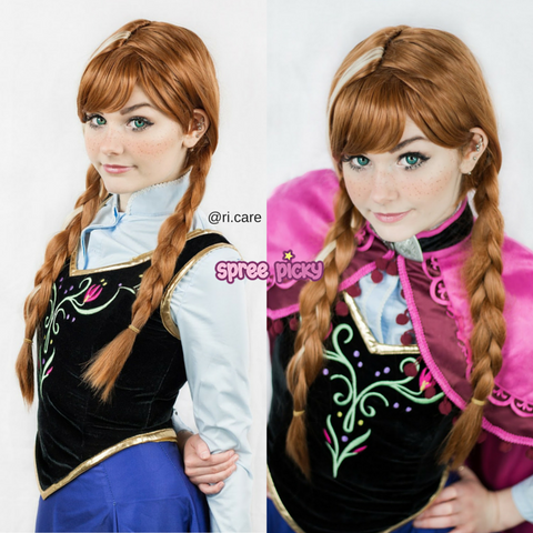 [Frozen] Princess Anna Cosplay Wig SP140779