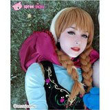 Winter Version [Frozen]Princess Anna Fabulous Gown Cosplay Costume SP140778 - SpreePicky  - 2
