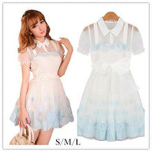 Load image into Gallery viewer, S/M/L Frozen Princess Dolly Summer Dress SP152145 - SpreePicky  - 1