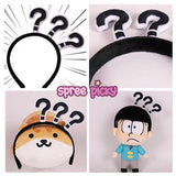 Funny Emoji Question Mark Hairband SP168230