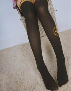 [GINTAMA] White/Black Sakata Gintoki Printing High Tights SP164983 - SpreePicky  - 4
