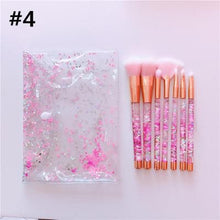 Load image into Gallery viewer, {Reservation}Galaxy Pink Unicorn Mermaid Paillette Makeup Brush SP1812556