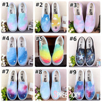 Galaxy Slip Canvas Shoes SP179221