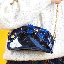 Load image into Gallery viewer, Galaxy Star Bow Cosmetic Bag/Cross Body Bag SP1812063
