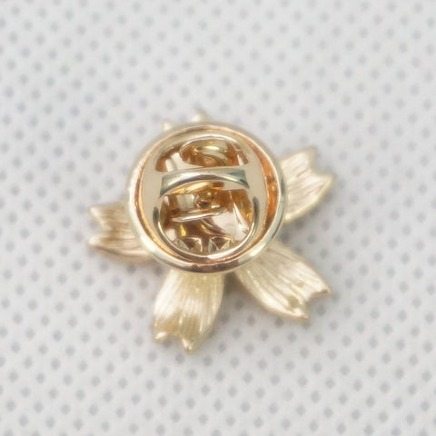 Gold/Bronze Japanese Sakura Badge Sakura Brooch SP153290 - SpreePicky  - 10