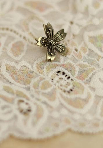 Gold/Bronze Japanese Sakura Badge Sakura Brooch SP153290 - SpreePicky  - 6