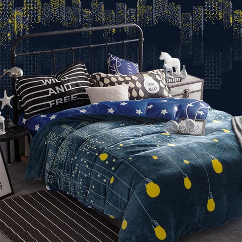 Good Night Winter Farley Suite Bedding Set SP168439