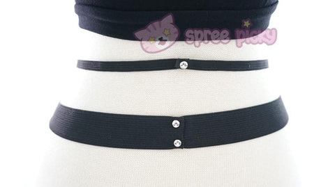 Gothic Magic Star Tube Top Shirt SP152946 - SpreePicky  - 8