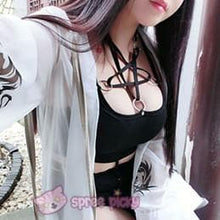 Load image into Gallery viewer, Gothic Magic Star Tube Top Shirt SP152946 - SpreePicky  - 2