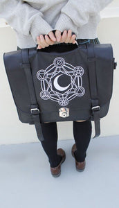 Gothic Retro Dark Magic 3 ways Backpack SP153641 - SpreePicky  - 4