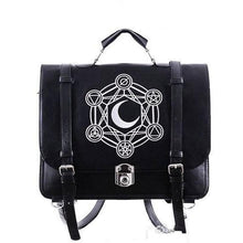 Load image into Gallery viewer, Gothic Retro Dark Magic 3 ways Backpack SP153641 - SpreePicky  - 1