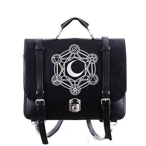Gothic Retro Dark Magic 3 ways Backpack SP153641 - SpreePicky  - 1