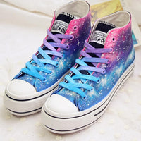 Gradient Galaxy Canvas High Shoes SP1812194