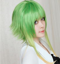 Load image into Gallery viewer, Grass Green Cosplay Camellia GUMI Wig 45cm SP152574 Kawaii Aesthetic Fashion - SpreePicky