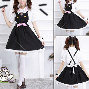 Grey/Yellow/Black Cutie Kitty Dress SP154458 - SpreePicky  - 3