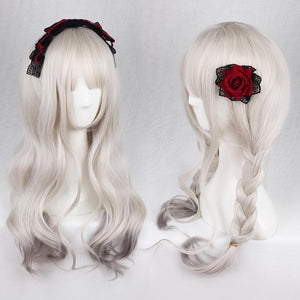 Grey Gradient Lolita Curl Wig SP1710208