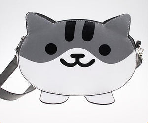 Neko Atsume GreyCat PU Bag SP164825 - SpreePicky  - 3