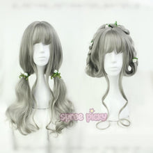 Load image into Gallery viewer, Grey Lolita Harajuku Long Curl Wig SP166816