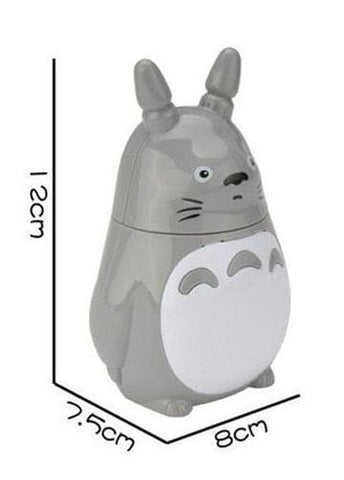 Grey Totoro Kawaii Mini USB Charging Fan SP166753