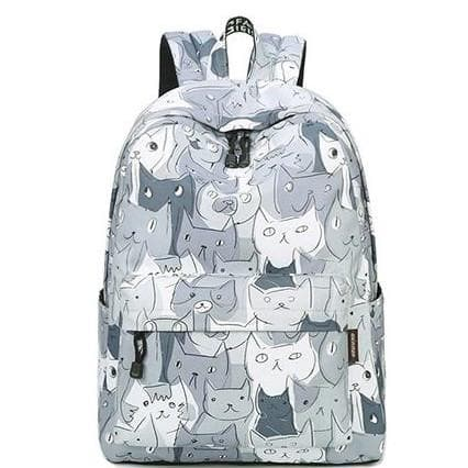 Grey Winner Cats Galore Backpack SP179264