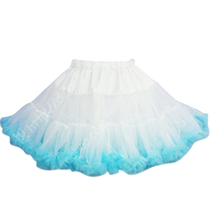 Load image into Gallery viewer, HIGH QUALITY Lolita Cosplay  Fluffy TUTU Dream Rainbow A shape Pettiskirt SP130218 - SpreePicky  - 19