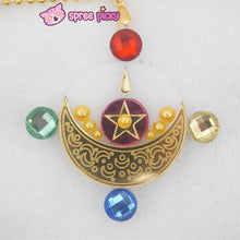 Load image into Gallery viewer, Handmade Sailor Moon Manga Usagi Transformation Make Up Necklace SP140923 - SpreePicky  - 2