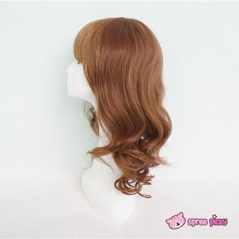 Harajuku Lolita Cosplay Brown Curly Wig 20INCH SP130052 - SpreePicky  - 3