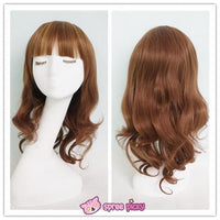 Harajuku Lolita Cosplay Brown Curly Wig 20INCH SP130052 - SpreePicky  - 1