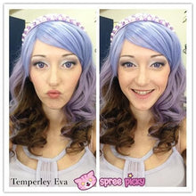 Load image into Gallery viewer, Harajuku Lolita Cosplay Purple Gradient 19INCH Wig SP130002 - SpreePicky  - 2