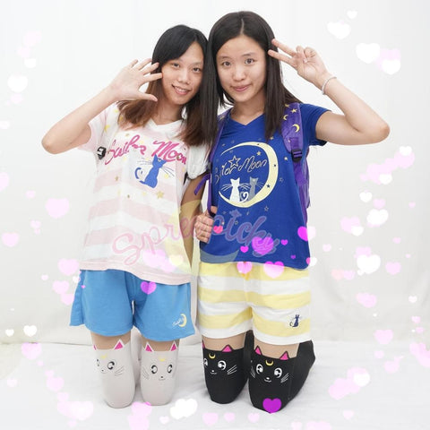 Harajuku Sailor Moon Pajamas Leisure Home Wear Set SP140649 - SpreePicky  - 1