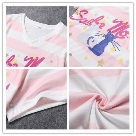 Harajuku Sailor Moon Pajamas Leisure Home Wear Set SP140649 - SpreePicky  - 4