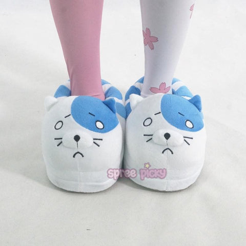 [Himouto! Umaru-chan] Cat Columbus Warm Plush Slippers SP165155