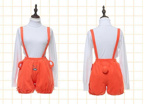 [Himouto! Umaru-chan] S/M/L Umaru Hamster Orange Suspender Bloomer SP165348