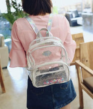 Load image into Gallery viewer, Hologram Crystal Backpack SP1812273