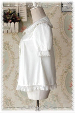 Load image into Gallery viewer, M/L  [INFANTA] Lolita Cream White Cutie Blouse SP152446 - SpreePicky  - 3