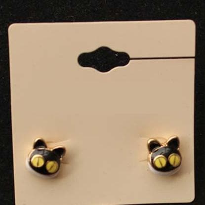 I am Cute Kitty Earrings SP152543 - SpreePicky  - 2