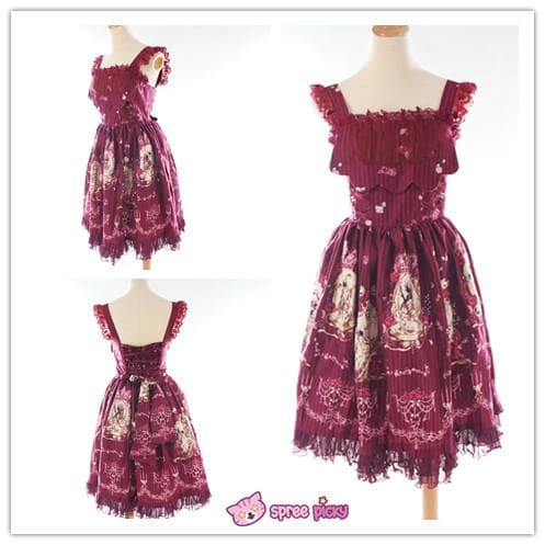 [Infanta] 3 Colors Lolita Tangled JSK SP151894 - SpreePicky  - 1