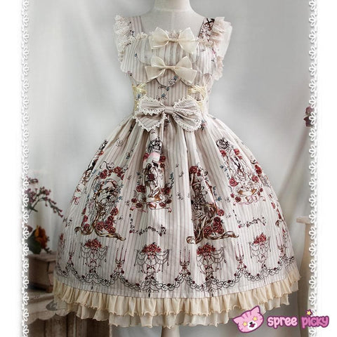 [Infanta] 3 Colors Lolita Tangled JSK SP151894 - SpreePicky  - 2