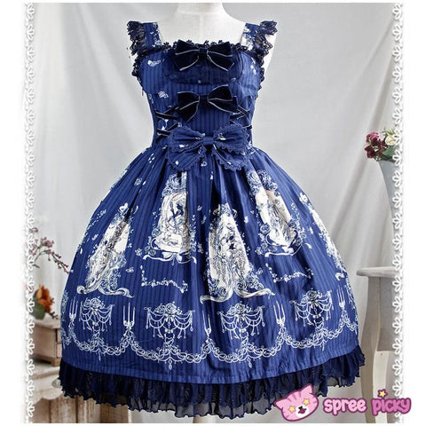 [Infanta] 3 Colors Lolita Tangled JSK SP151894 - SpreePicky  - 3