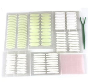 Invisible Double Eyelid Stickers with Free 52 Fiber Strips and 1 Y-fork SP165574