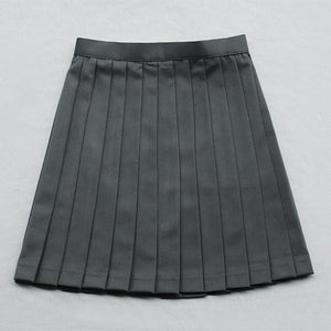 Japanese Grey Sailor Uniform Top/Skirt SP164936/SP164937 - SpreePicky  - 6