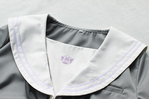 Japanese Grey Sailor Uniform Top SP164937 - SpreePicky  - 3