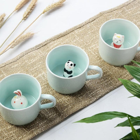 Kawaii Animal Tea Cup SP1710294