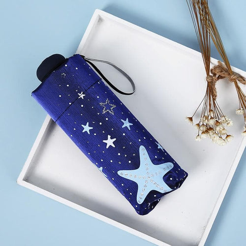 Kawaii Bird Star Mini Umbrella SP1812424