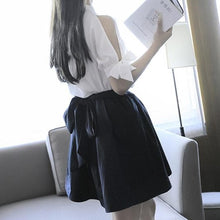 Load image into Gallery viewer, Kawaii Bow Laced Blouse/Skirt  SP1710313
