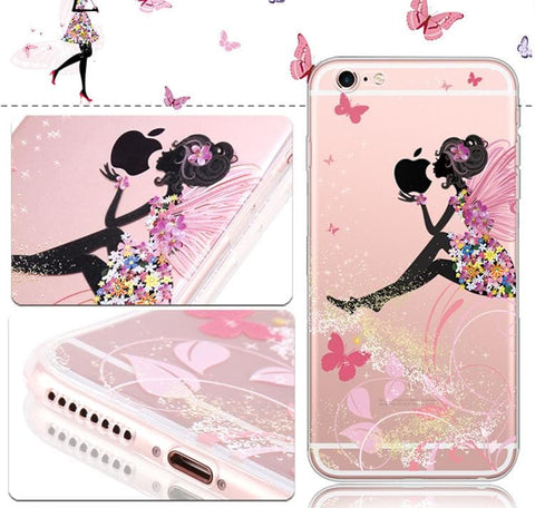 Kawaii Cartoon Silica Gel Phone Case SP165060