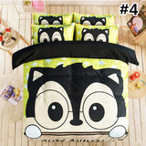 Kawaii Cartoon Three-Piece/Four-Piece Bedding Set SP179653