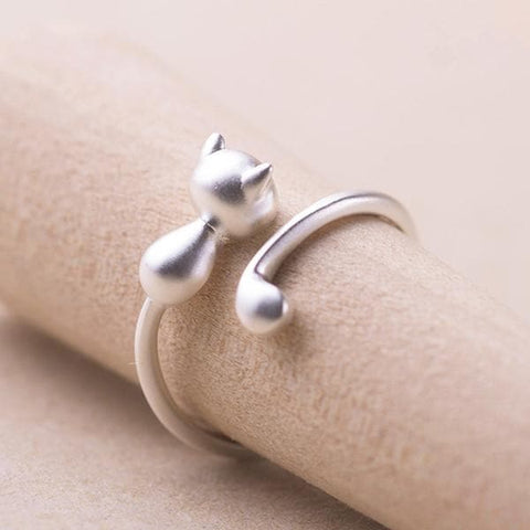 Kawaii Cat Lover Ring SP179078