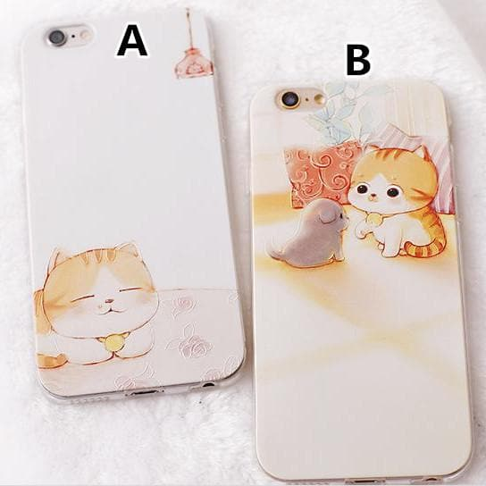 Kawaii Cat Phone Case SP166301