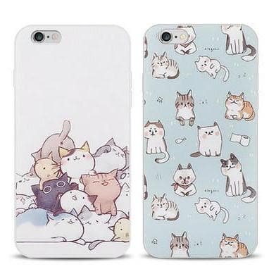 Kawaii Cat Printing Phone Case SP166177